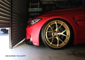 BMW M4 FullWrapping&HRE S101