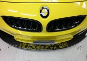 GO!�Х�֥�ӡ����ե��åԥ󥰥����˥֥쥤�֥��饹�����ƥ��󥰡� BRAVE glass coating For BMW M4 Full Wrapping Bumblebee���֥쥤�֥��饹�����ƥ��󥰡�